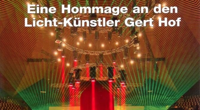 Der Licht-Architekt Gert Hof – Interview mit Asteris Kutulas