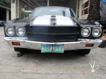 Angel Locsin's dream car: a 1970 Chevrolet Chevelle