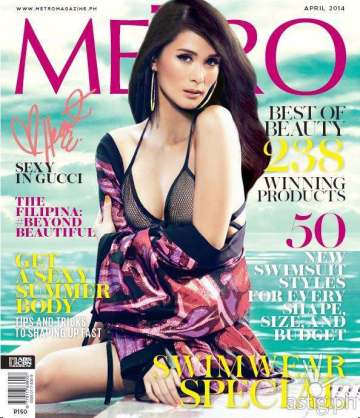 Metro Magazine featuring Heart Evangelista