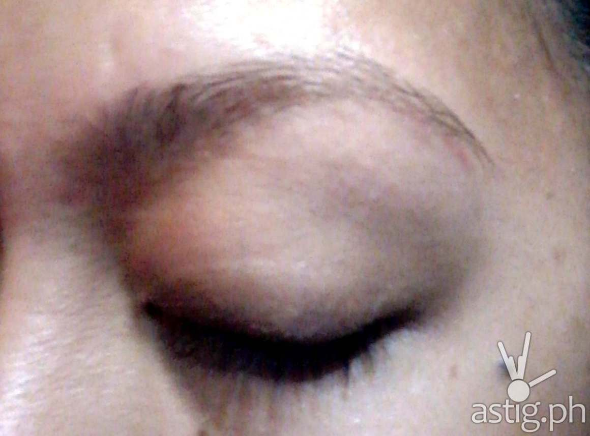 My eyebrows a few days after Browgraphy