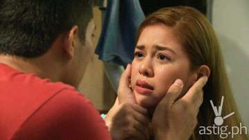 Shaina Magdayao and Ejay Falcon in MMK