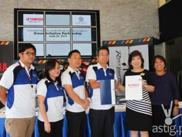Yamaha donates 20 motorcycles to ABS-CBN Lingkod Kapamilya