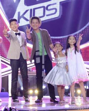 The Voice Kids Final 4 Darren, Juan Karlos, Lyca, Darlene