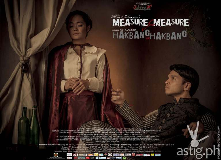 Measure for Measure Hakbang sa Hakbang by Dulaang UP