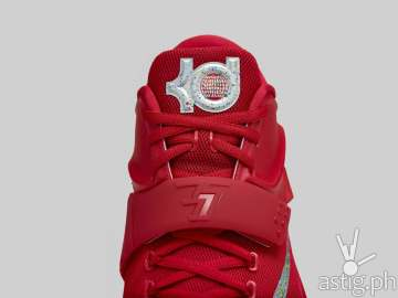 Nike KD7 basketball shoes Red General