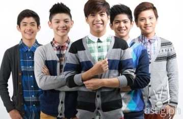 Gimme 5 boy group from ASAP 19