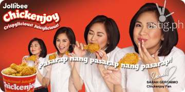 Sarah Geronimo for Jollibee Chicken Joy