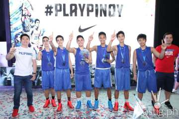 Team Amazing Playground emerged victorious at the Nike PlayPinoy basketball tournament