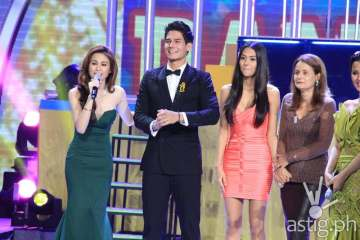 Toni, Daniel Matsunaga and his sister Vanessa and mother Geralda Maria