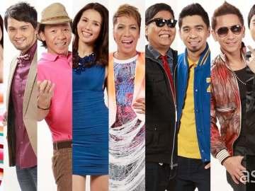 It's Showtime hosts Vhong, Anne, Billy, Kuya Kim, Karylle, Vice, Jugs, Teddy, Jhong, Ryan, Coleen