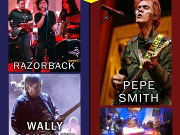 Razorback, Pepe Smith to perform at Bear's Grill