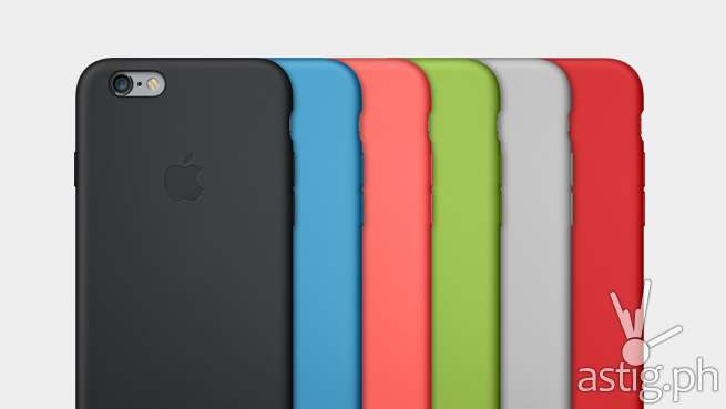 Silicone cases for the Apple iPhone 6 and iPhone 6 Plus