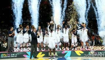 USA vs Serbia 2014 FIBA World Cup Champion Madrid Spain (FIBA.com)