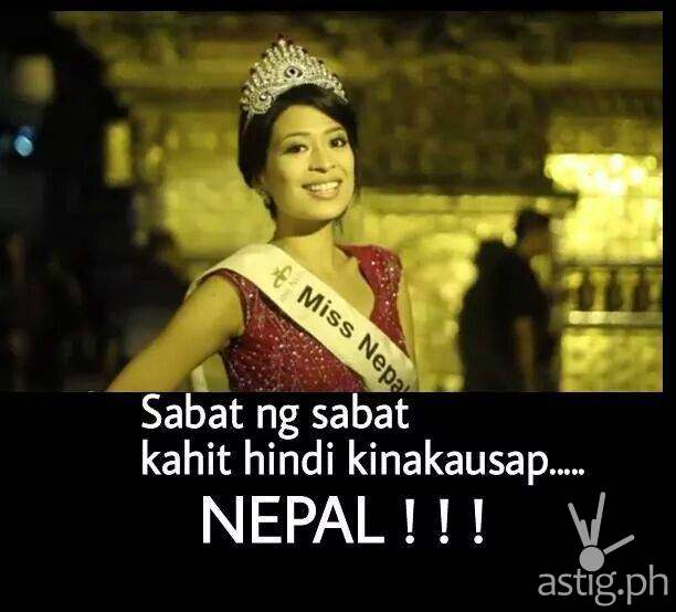 Sabat nang sabat kahit hindi kinakausap ... NEPAL!!!