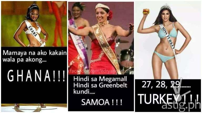 Beauty Pageant / Miss Universe memes