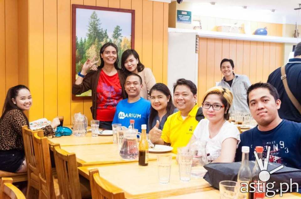 Bloggers at Rack's SM Megamall