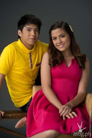 Nash Aguas and Alexa Icad in Bagito