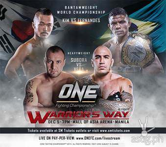 ONE Fighting Championship Warrior's Way SM Mall of Asia Arena