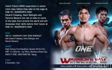 Team Lakay ONE Fighting Championship