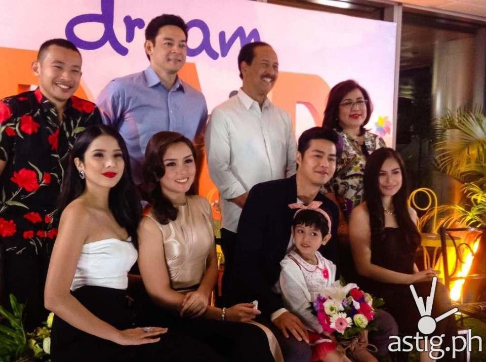Dream Dad cast Maxene Magalona, Beauty Gonzales, Yen Santos, Ana Feleo, Katya Santos, Ketchup Eusebio, Ariel Ureta, and more