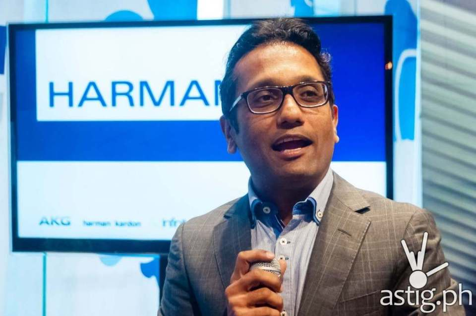 Mohit Parasher, Vice-President for Asia Pacific, Harman International Industries