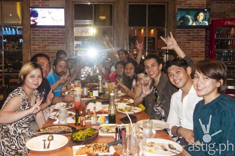 ASTIG.PH celebrates a successful year at Gerry's Grill in Promenade, Greenhills