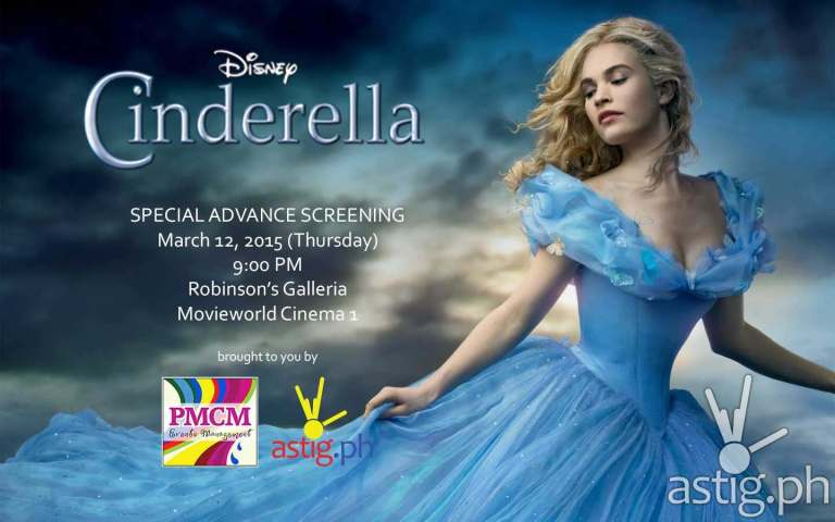 Walt Disney's Cinderella: The movie special advance block screening giveaway