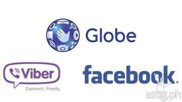 Globe free viber free facebook