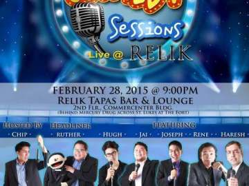Comedy Sessions at Relik
