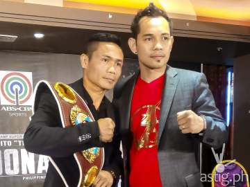Donnie Nietes and Nonito Donaire Jr