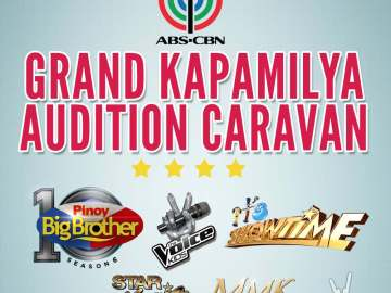 Grand Kapamilya Audition Caravan---PBB, The Voice Kids, It's Showtime, Star Magic, MMK
