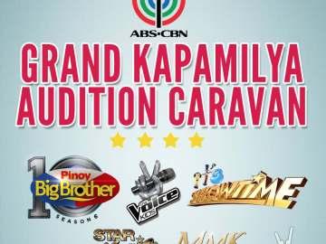 Grand Kapamilya Audition Caravan---PBB, The Voice Kids, It's Showtime, Star Magic, MMK