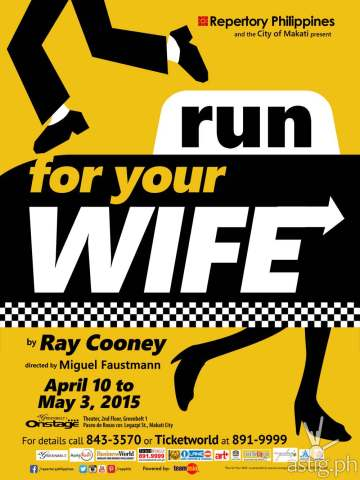 Repertory Phils Run For Your Wife poster