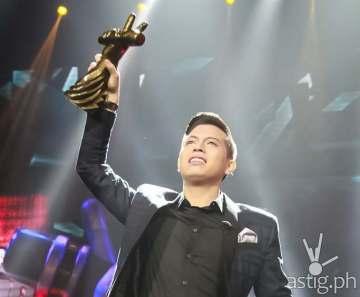 The Voice of the Philippines Season 2 grand winner Jason Dy (Team Sarah)
