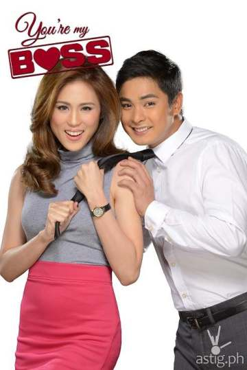 Coco Martin and Toni Gonzaga in You're My Boss