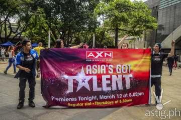 Asia's Got Talent flash mob