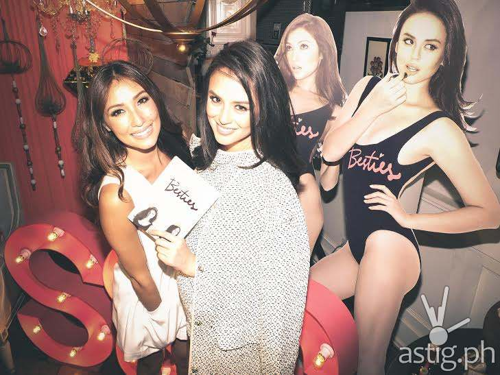 GEORGINA AND SOLENN AT THE BESTIES BOOK LAUNCH