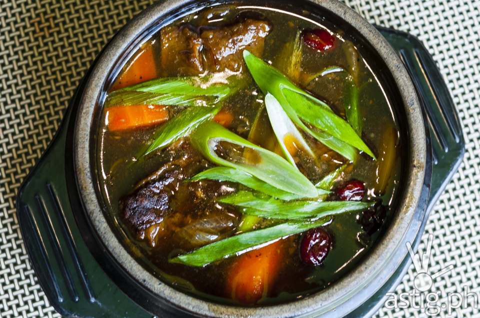 Galbi Jjim at Leann's Tea House (P450)