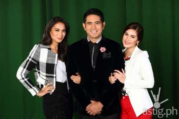 Nathaniel cast Gerald Anderson, Isabelle Daza and Shaina Magdayao