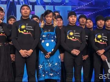El Gamma Penumbra Asia's Got Talent finals performance