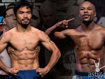 Floyd Mayweather Jr vs Manny Pacquiao