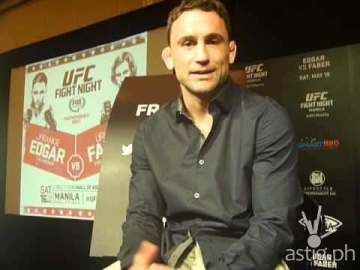 Frankie Edgar UFC Fight Night Manila