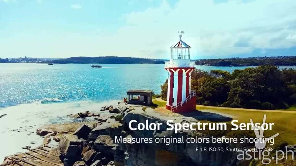 LG G4 Color Spectrum Sensor