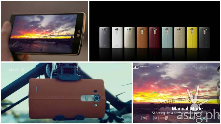 LG G4 features camera video