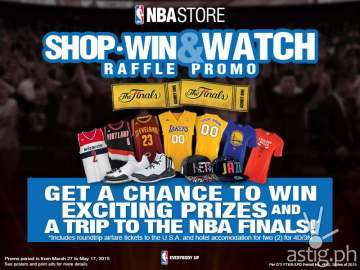 Shop win and watch online ad