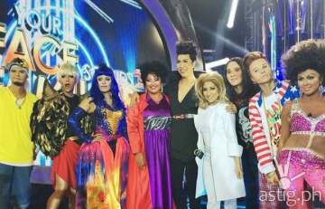 The eight celebrity performers of Your Face Sounds Familiar with guest juror Vice Ganda last week