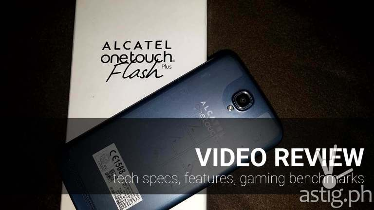 Alcatel ONETOUCH Flash Plus review video