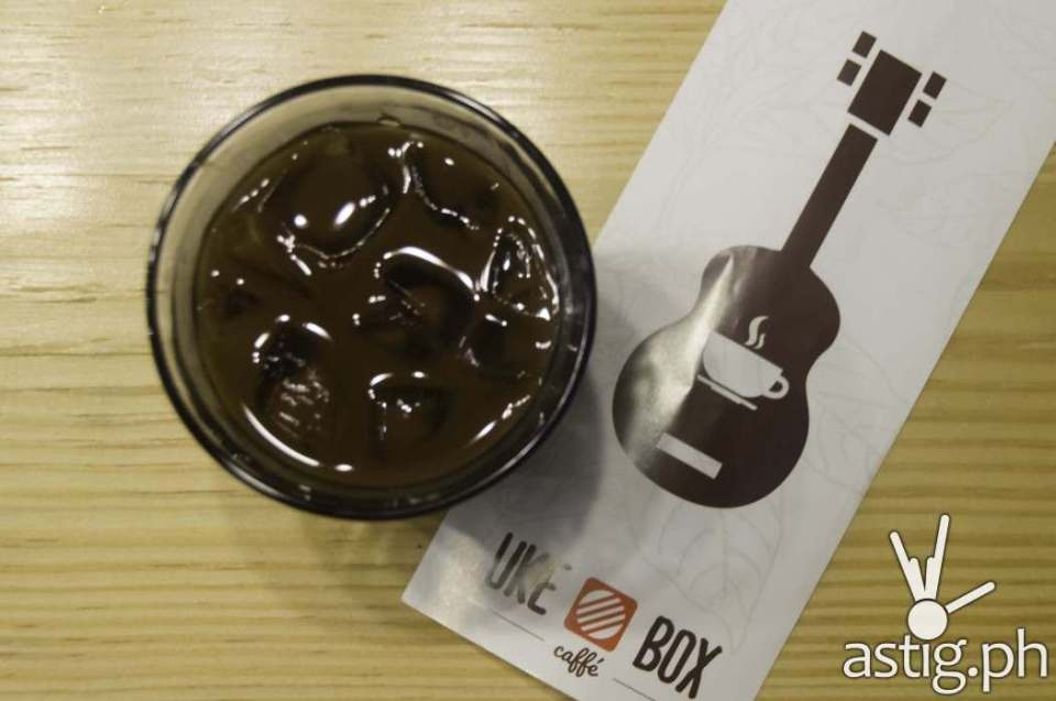 Cold Drip Coffee at Uke Box Caffe (PHP 130)
