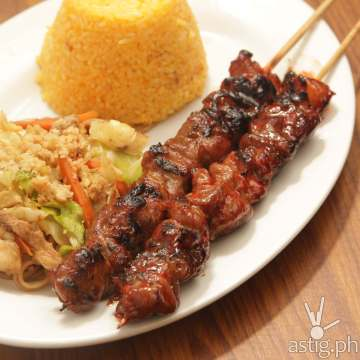 Pork Barbeque Combo Meal, P165
