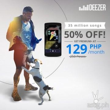 Deezer Premium+ 129 PHP